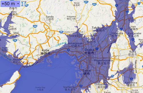 Flood map Osaka plus 50 meter.jpg