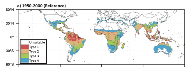 Monaghan et al 2016 - Mosquito area 1950-2000.png